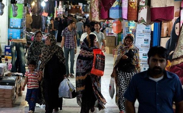 پاساژ قدیم قشم,عکس بازار قدیم قشم,مرکز خرید قدیم قشم