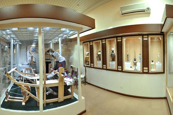 موزه گنجینه,موزه مردم شناسی,موزه مردم شناسی رشت