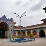 پلان مسجد جامع گرگان,تاریخ مسجد جامع گرگان,تاریخچه مسجد جامع گرگان