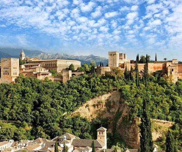 جاذبه های گرانادا,جاذبه های گردشگری گرانادا,دانشگاه گرانادا اسپانیا