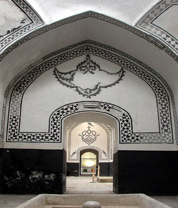 تاریخچه حمامهای ایرانی,حمام خان ظهیری,حمام خان ظهیری سنندج