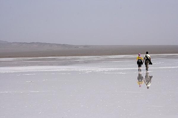 دریاچه حوض سلطان,دریاچه حوض سلطان قم,دریاچه نمک حوض سلطان