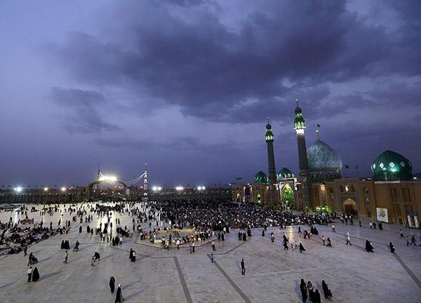 عکس مسجد جمکران,فاصله مسجد جمکران تا قم,مسجد جمکران