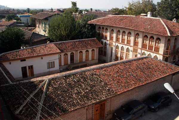 خانه امیر لطیفی در گرگان,عکس از خانه امیر لطیفی گرگان,موزه صنایع دستی گرگان