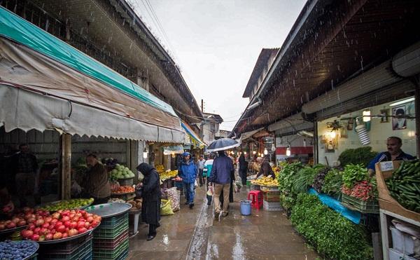 بازار نعلبندان در گرگان,عکس بازار نعلبندان گرگان,محله نعلبندان گرگان