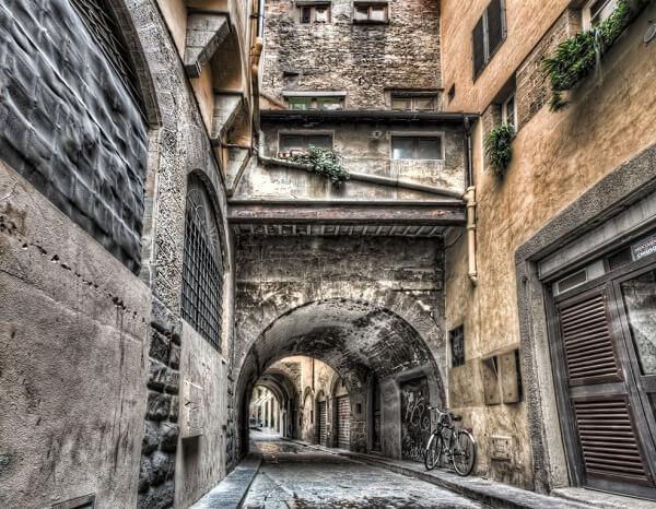 جاذبه های فلورانس,جاهای دیدنی شهر فلورانس ایتالیا,شهر فلورانس