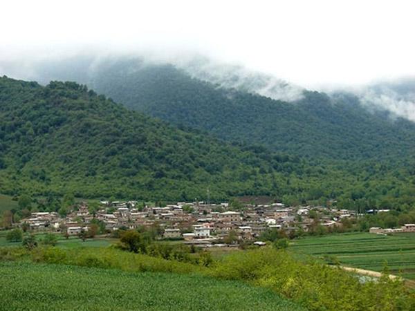 آبشار نومل,آبشار نومل گرگان,روستای گرگان