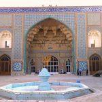 آدرس مسجد جامع قم,تاریخچه مسجد جامع قم,عکس مسجد جامع قم