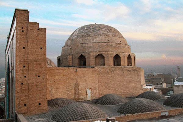 قدمت مسجد جامع قم,مسجد جامع,مسجد جامع استان قم