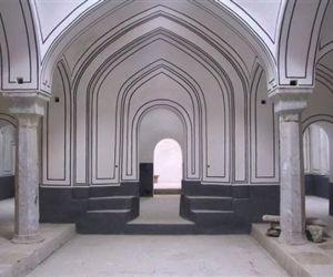 آدرس حمام شیشه سنندج,بناهای تاریخی سنندج,بنای تاریخی