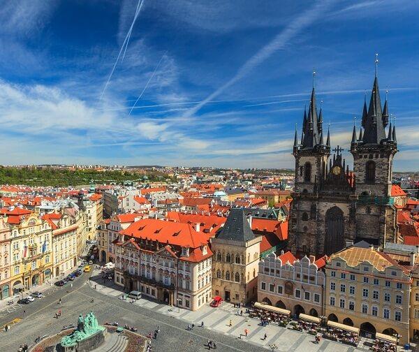 پراگ جمهوری چک,پراگ چک,پراگ کجاست؟