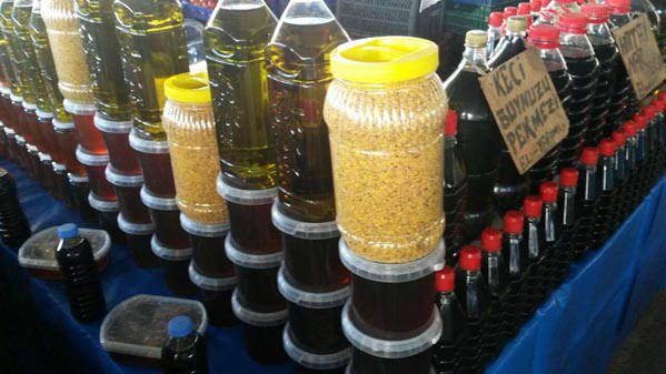 بازارهای محلی آنتالیا,خرید عسل از ترکیه