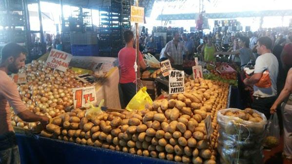 بازار محلی آنتالیا ترکیه (4)