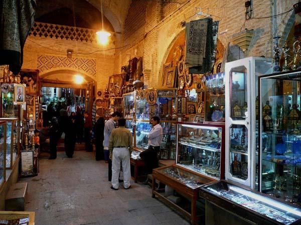 سرای مشیر در شیراز,سرای هنر شیراز,عکس سرای مشیر شیراز