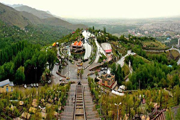 تپه عباس آباد,عباس آباد همدان,مجتمع تفریحی سیاحتی عباس آباد همدان