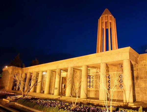 آرامگاه بوعلی سینا همدان,قبر بوعلی سینا,معماری آرامگاه بوعلی سینا