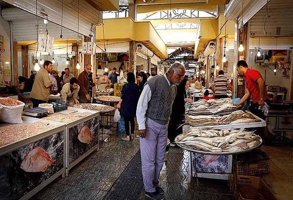 بازار ماهی فروشان شهر بوشهر,بازار ماهی فروشی بوشهر,عکس بازار ماهی فروشی