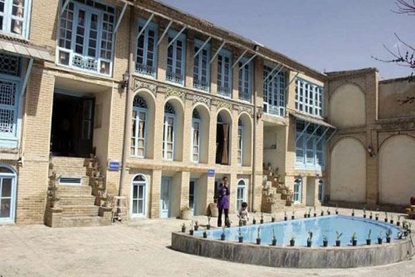 خانه های تاریخی کرمانشاه,خانه های قدیمی کرمانشاه,معین الکتاب