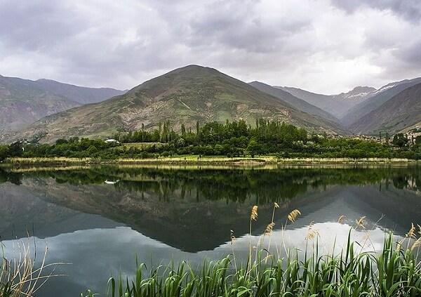 تصاویر دریاچه اوان,دریاچه اوان قزوین,دریاچه کوهستانی اوان استان قزوین