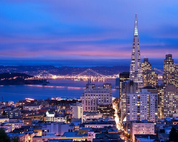جاذبه های گردشگری سان فرانسیسکو,سان فرانسیسکو ایالت کالیفرنیا