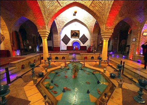 حمام قلعه,حمامهای تاریخی,حمامهای تاریخی ایران