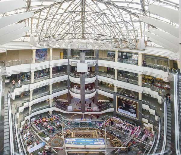 مشخصات اولیه مرکز خرید سمرقند تهران