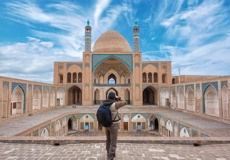 آدرس مسجد آقا بزرگ کاشان,تاریخچه مسجد آقا بزرگ,عکس مسجد مدرسه آقا بزرگ کاشان