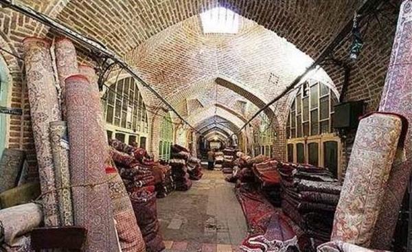 بازار قدیمی همدان,تاریخچه بازار همدان,راسته های بازار همدان