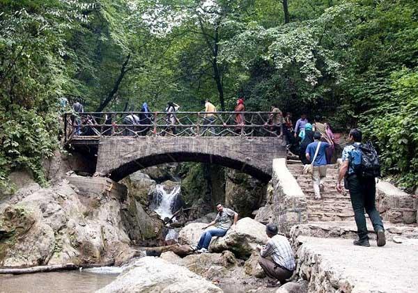 جنگل کبودوال گلستان,عکس کبودوال,کبودوال آبشار تمام خزه ای جهان