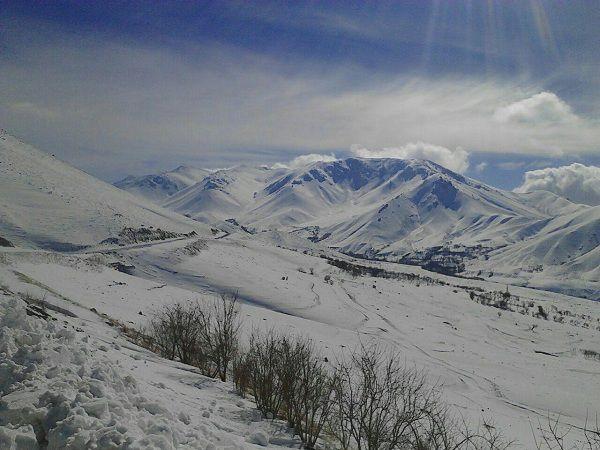 بهشت گمشده,جاذبه های گردشگری کرمانشاه,روستای قلعه لان