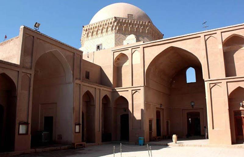 آدرس مدرسه یزد,تاریخ زندان اسکندر,تاریخچه مدرسه ضیائیه یزد