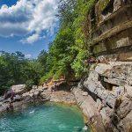 آبشار شیرآباد خان ببین,آبشار شیرآباد در گلستان,آبشار شیرآباد گرگان