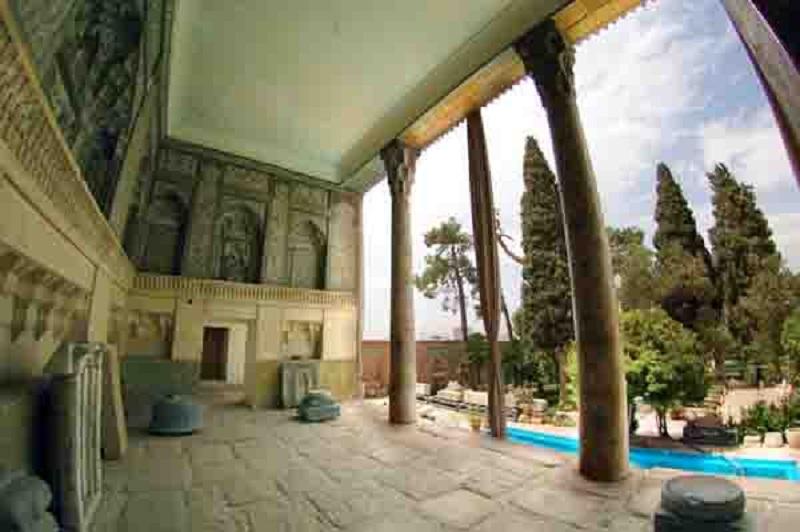 عکس موزه هفت تنان شیراز,عمارت هفت تنان شیراز,مقبره هفت تن