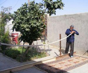 چله کشی در زابل,چله کشی فرش,چله کشی فرش زابل سیستان و بلوچستان