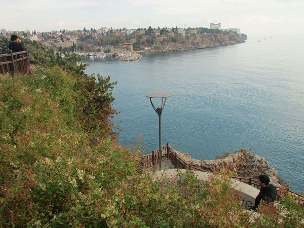 اسکله آنتالیا ترکیه,اسکله تاریخی آنتالیا,بندرگاه تاریخی آنتالیا ترکیه