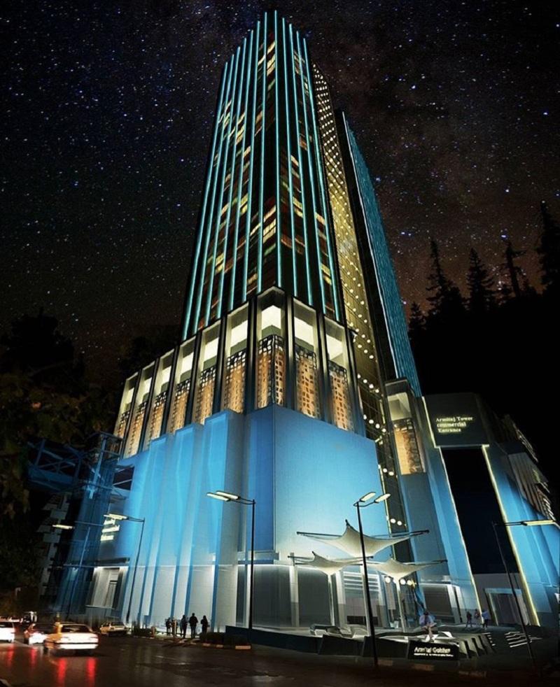 مجتمع تجاری آرمیتاژ گلشن,مجتمع تجاری آرمیتاژ گلشن دارای فضای مناسبی برای دفاتر کار می باشد,هتل آرمیتاژ مشهد