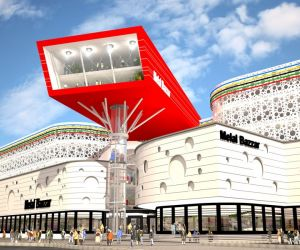 بازار بزرگ ملل در مشهد,بازار بزرگ ملل در مشهد و در تقاطع بزرگراه شهید بابا نظر و بولوار شهید آوینی واقع شده است,بازار بزرگ ملل مشهد