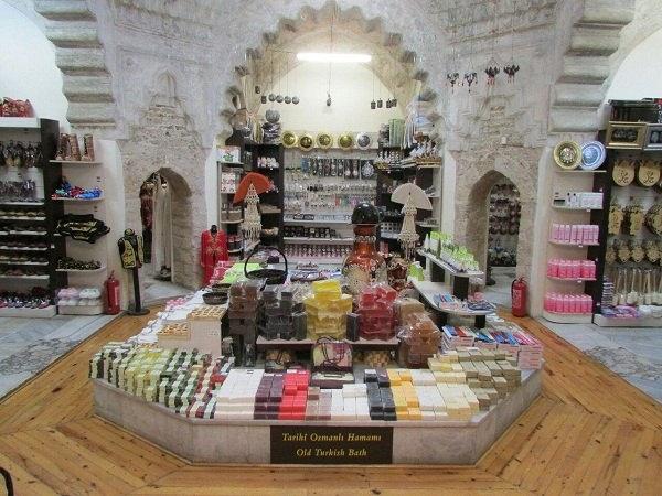 جاذبه های گردشگری آنتالیا در ترکیه,جاذبه های گردشگری شهر آنتالیا,عکس های بازار عثمانی آنتالیا ترکیه