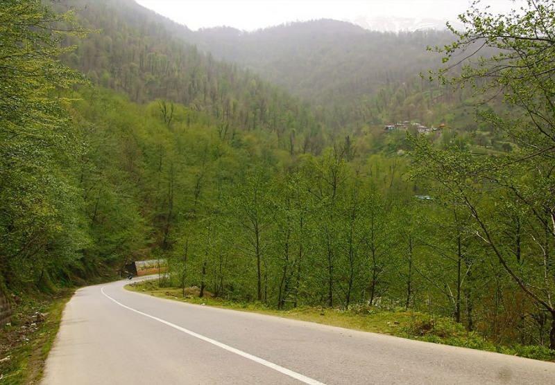 جاذبه های گردشگری جاده چالوس,دیدنی های جاده چالوس,سفر در جاده چالوس