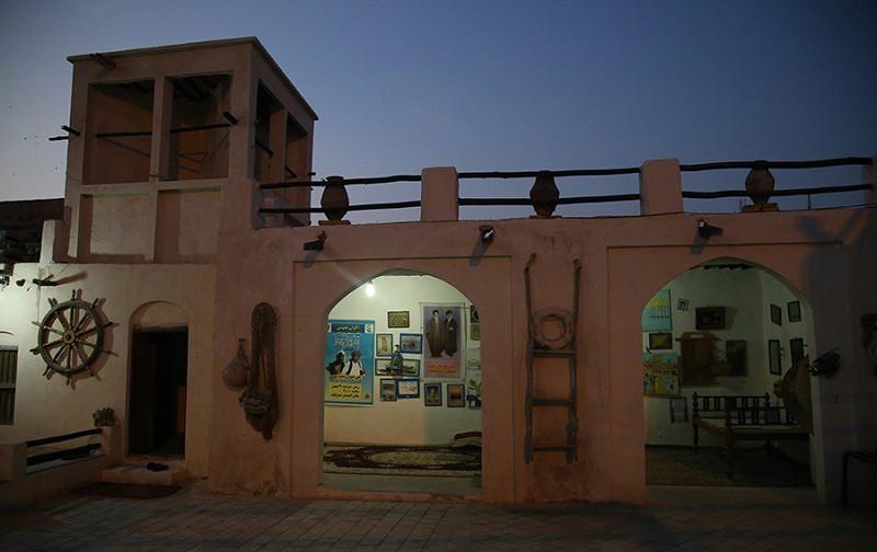 تصاویر موزه مردم شناسی بندر کنگ,جاذبه های گردشگری بندر کنگ,جاذبه های گردشگری هرمزگان