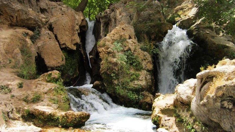 آبشار لردگان,تصاویر آبشار آتشگاه لردگان,جاذبه های گردشگری چهارمحال و بختیاری