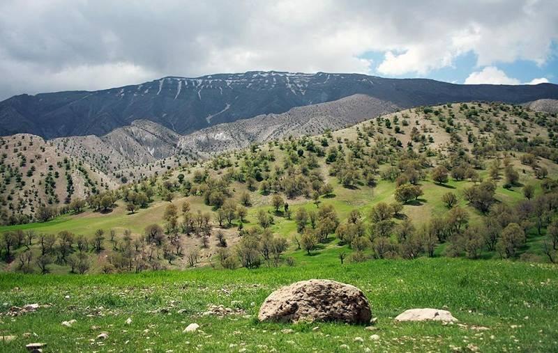 تصاویر منطقه حفاظت شده کبیرکوه,جاذبه های گردشگری ایلام,رشته کوه کبیرکوه