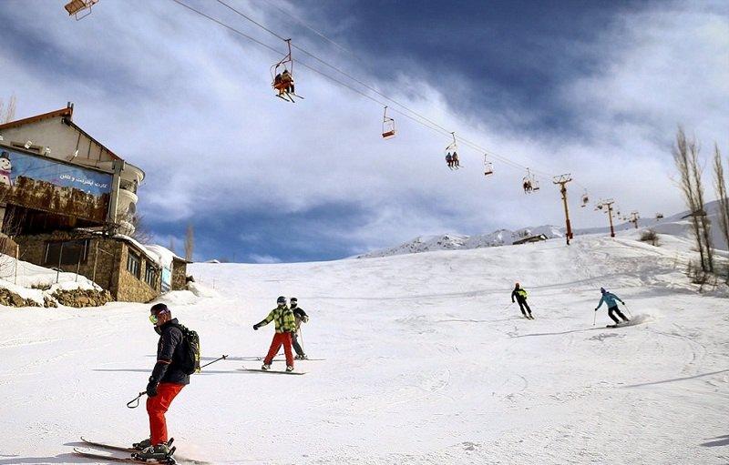 تصاویر پیست اسکی شمشک,جاذبه های گردشگری تهران,شمشک تهران