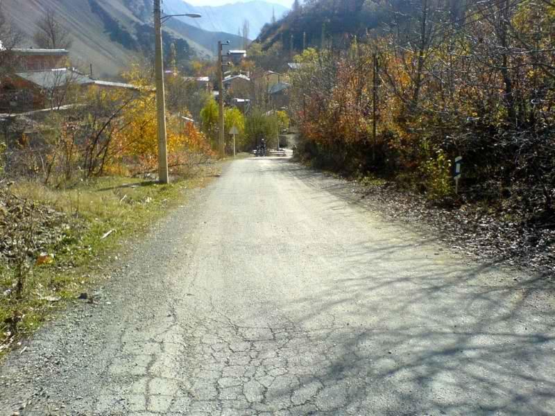 طبیعت روستای کلوان