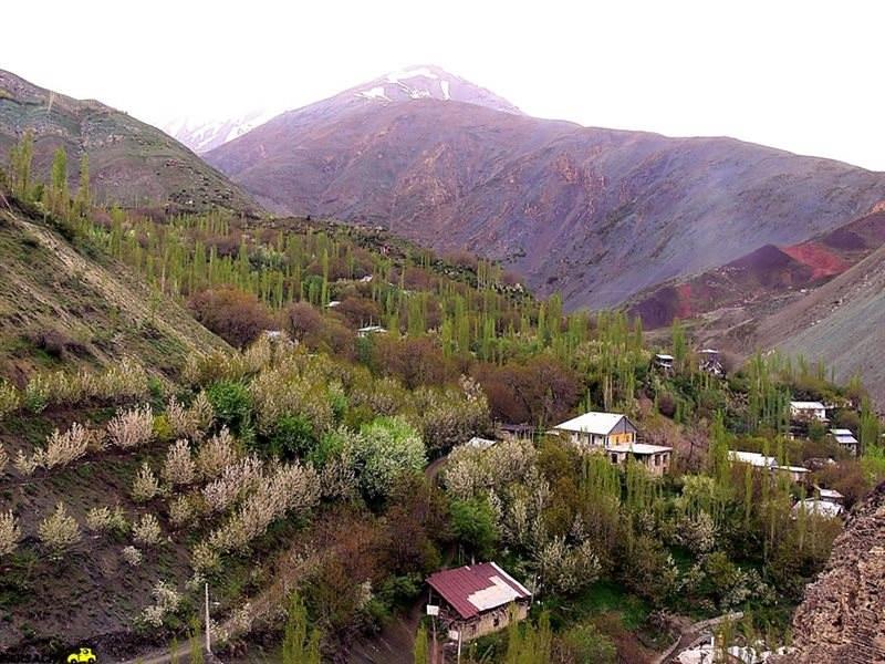 روستای کلوان البرز