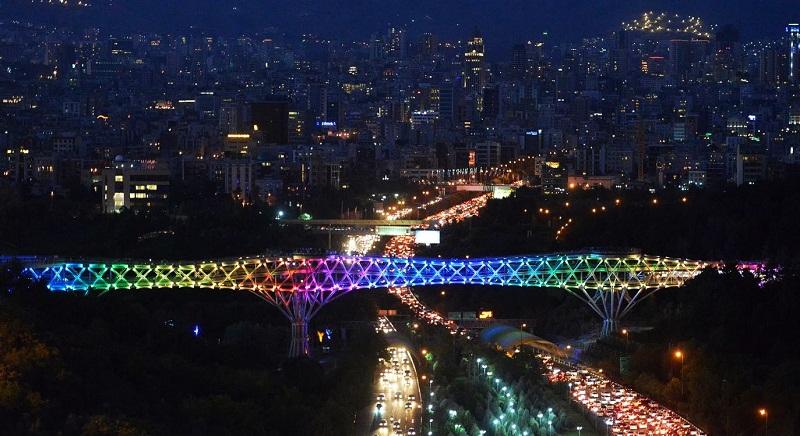 آدرس پل طبیعت تهران,پل طبیعت,پل طبیعت در تهران