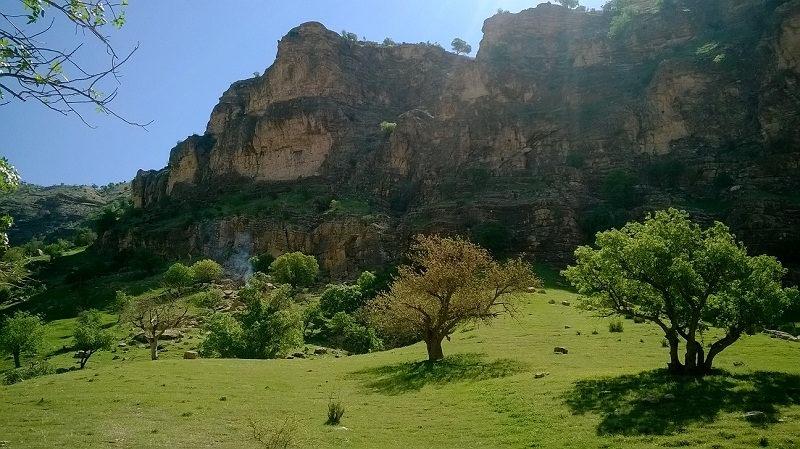 روستای سراب کلان,روستای سراب کلان در ایلام,روستای سراب کلان سیروان