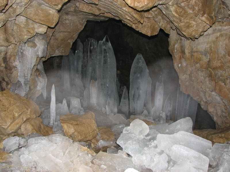 غار یخ مراد کرج,غار یخ مراد گچسر
