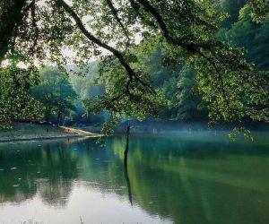 تور دریاچه چورت,جاذبه های گردشگری مازندران,دریاچه چورت