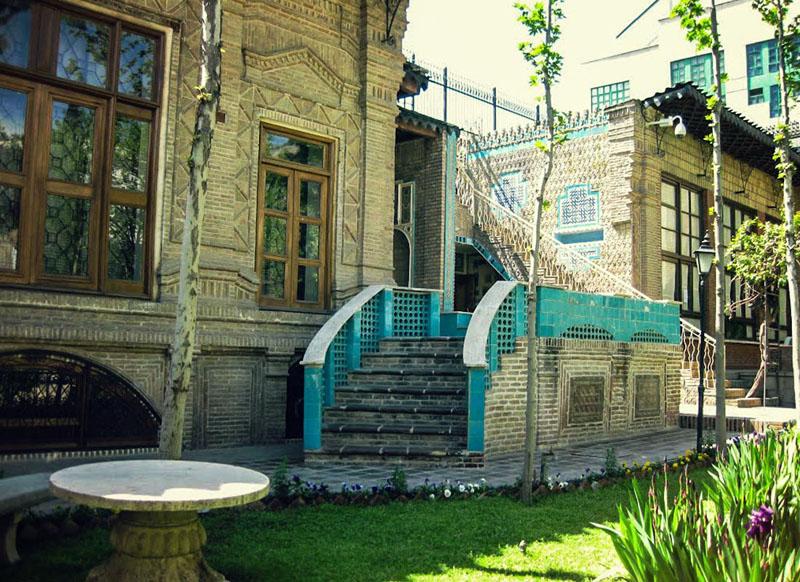 خانه موزه مقدم,عکس های موزه مقدم تهران,موزه خانه مقدم در تهران